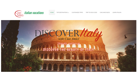 Ciao Amici | Discover Italy